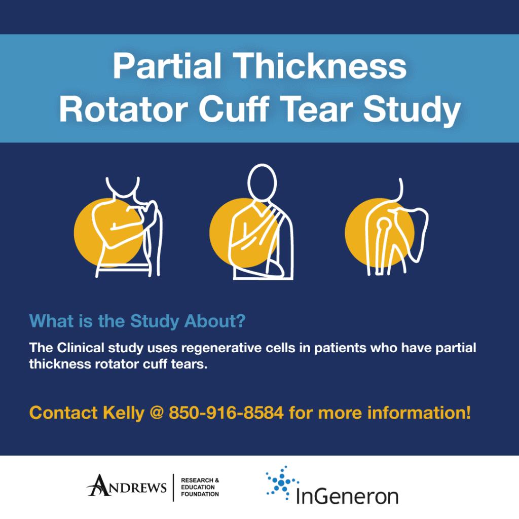 Rotator cuff tear study